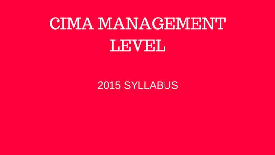 free cima management level resources